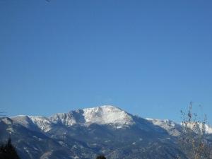 Pike's Peak in Colorado