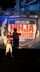 Kal Spriggs at American Ninja Warrior, 2015 San Pedro
