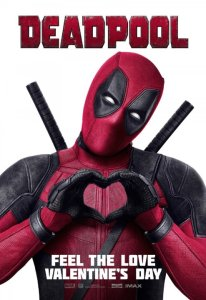 Deadpool: A Valentine's Day movie in the style of Roman Lupercalia